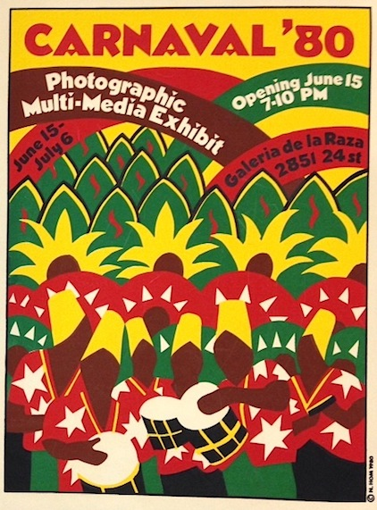 Carnaval '80. Photographic multi-media exhibit... [poster]. Nancy Hom, artist.