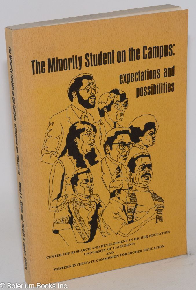The minority student on the campus: epectations and possibilities. Robert A. Altman, eds Patricia O. Snyder.