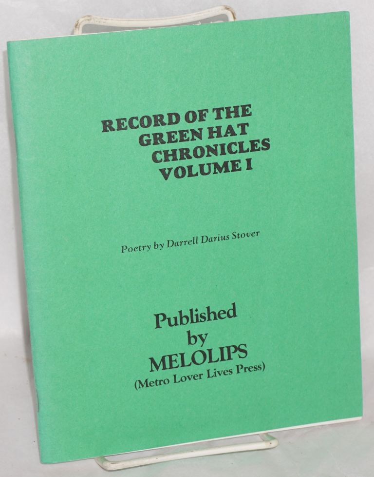 Record of the Green Hat Chronicles, vol. 1. Darrell Darius Stover.