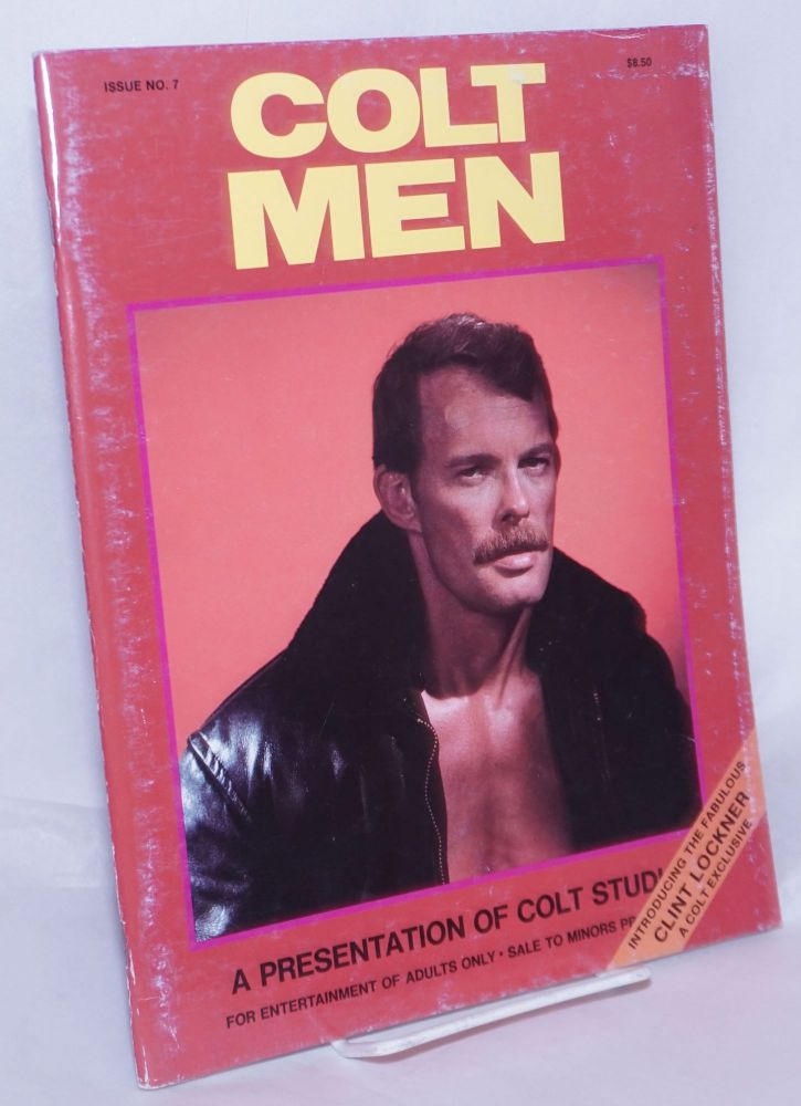 Colt men: issue no. 7, a presentation of Colt Studios. Rip Colt, Jim French.