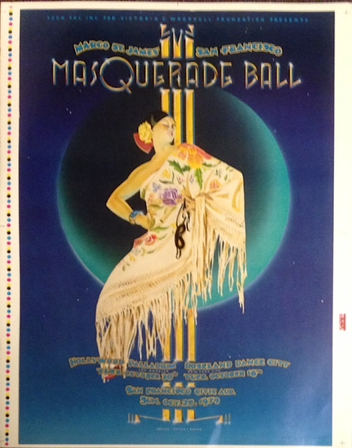 Margo St. James' San Francisco Masquerade Ball [poster]. Margo St. James.