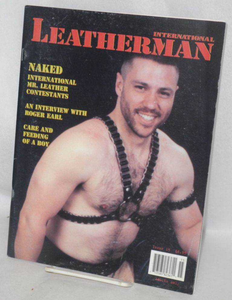 International leatherman: issue #15 September-Oct-Nov 1997. Peter Miller, , Etienne.