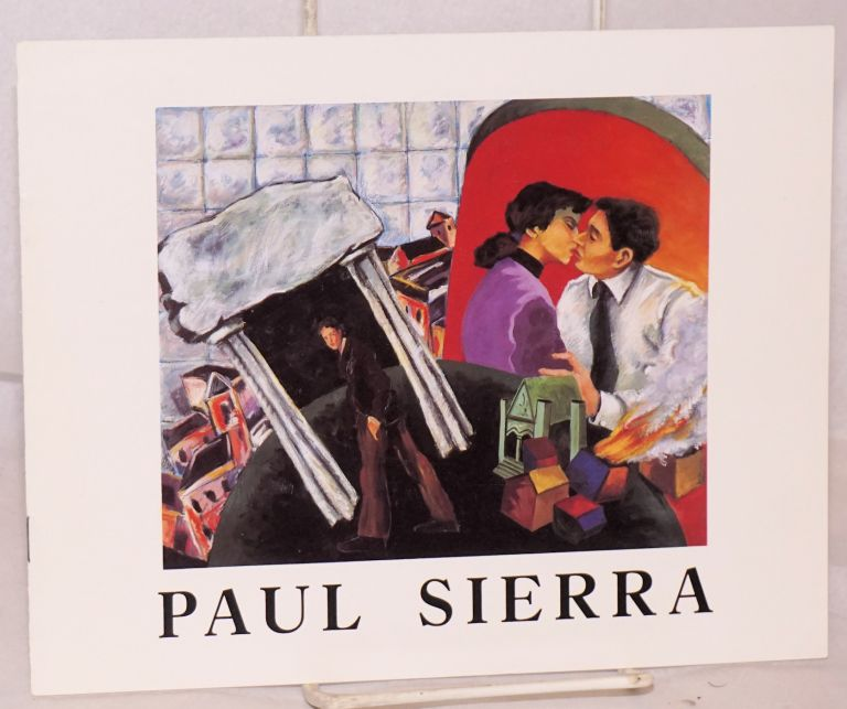 Paul Sierra, recent work. Paul Sierra.