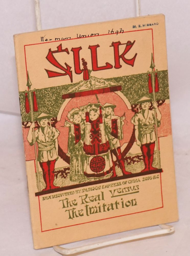 Silk, the real versus the imitation