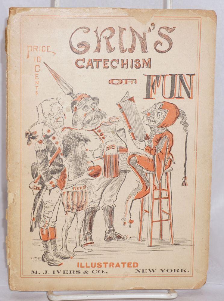 Grin's Catechism of Fun. Leo C. Evans, Grin.