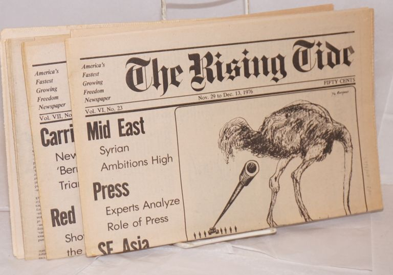 The rising tide: America's fastest growing freedom newspaper [4 issues]