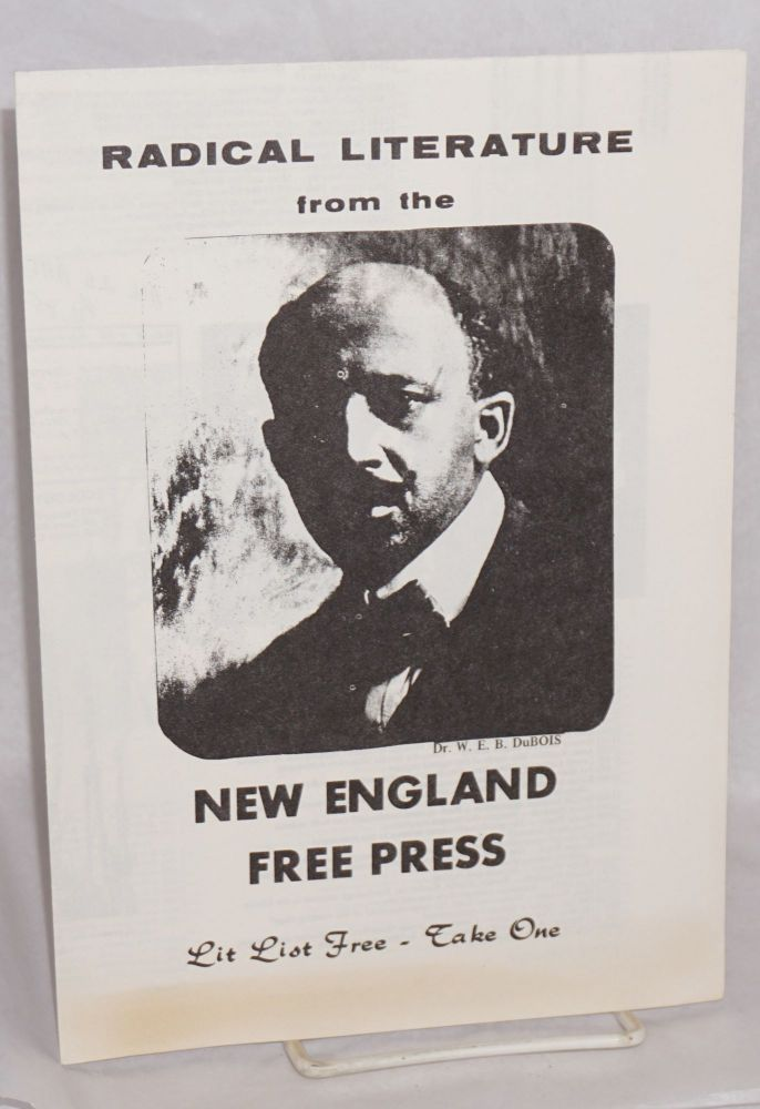 Radical literature from the New England Free Press. New England Free Press.