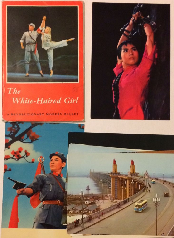 The white-haired girl: a revolutionary modern ballet [set of postcards]