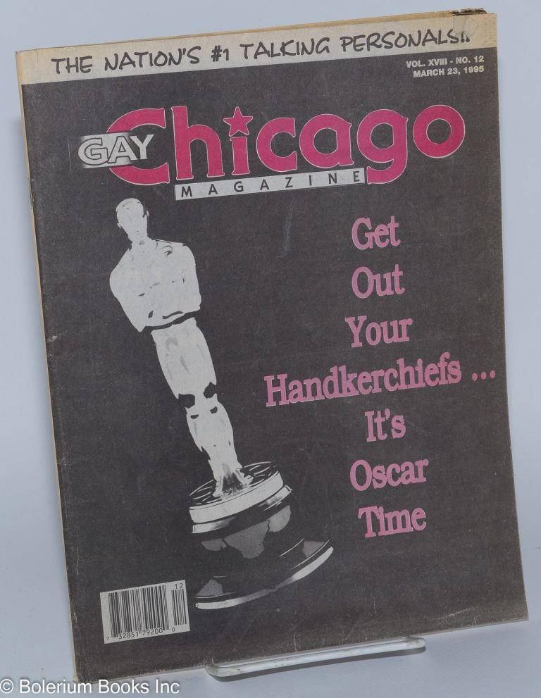 Gay Chicago Magazine: vol. 18, #12, March 23, 1995; Oscar Time