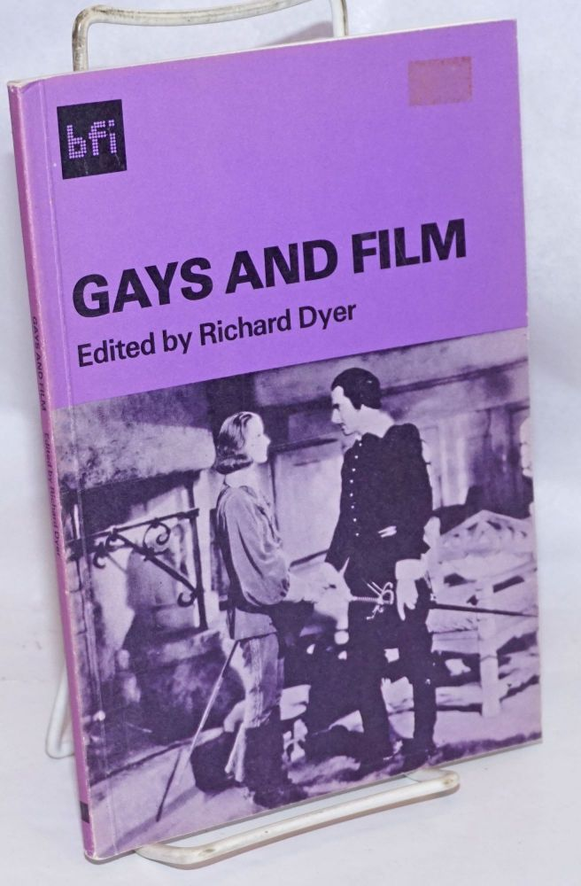 Gays and film. Richard Dyer, , Caroline Sheldon, Jack Babuscio.