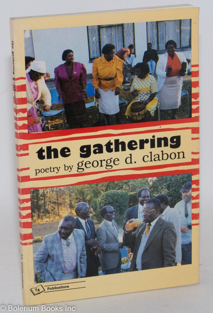 The gathering. Cover and book design by Ginny Knight. George D. Clabon.