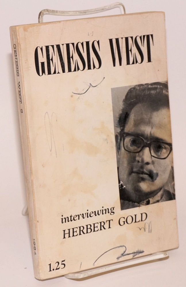 Genesis West 6: vol. 2, nos. 2 & 3, Winter-Spring 1964; a garden to grow the world again. Gordon Lish, Paul Bowles Herbert Gold, John Lennon.