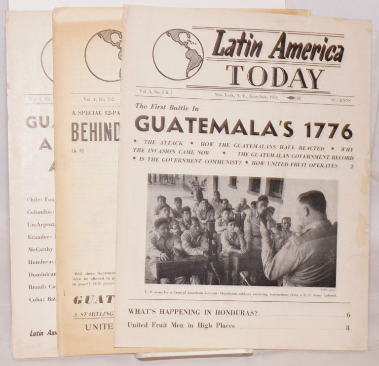 Latin America today [three issues]
