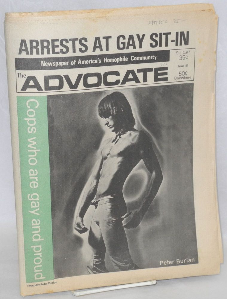 The Advocate: newspaper of America's homophile community; #111, May 9, 1973. Dick Michaels, , Lou Rand, Douglas Dean.