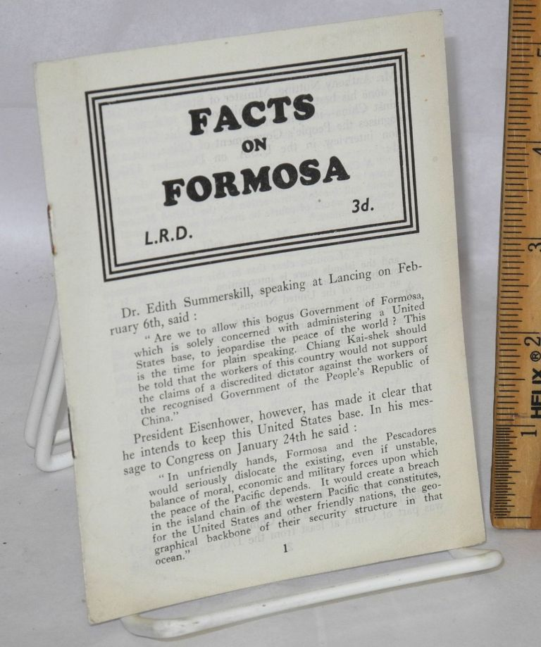 Facts on Formosa