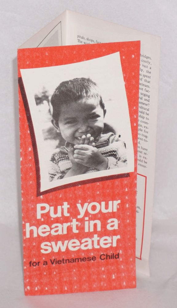 Put your heart in a sweater for a Vietnamese child