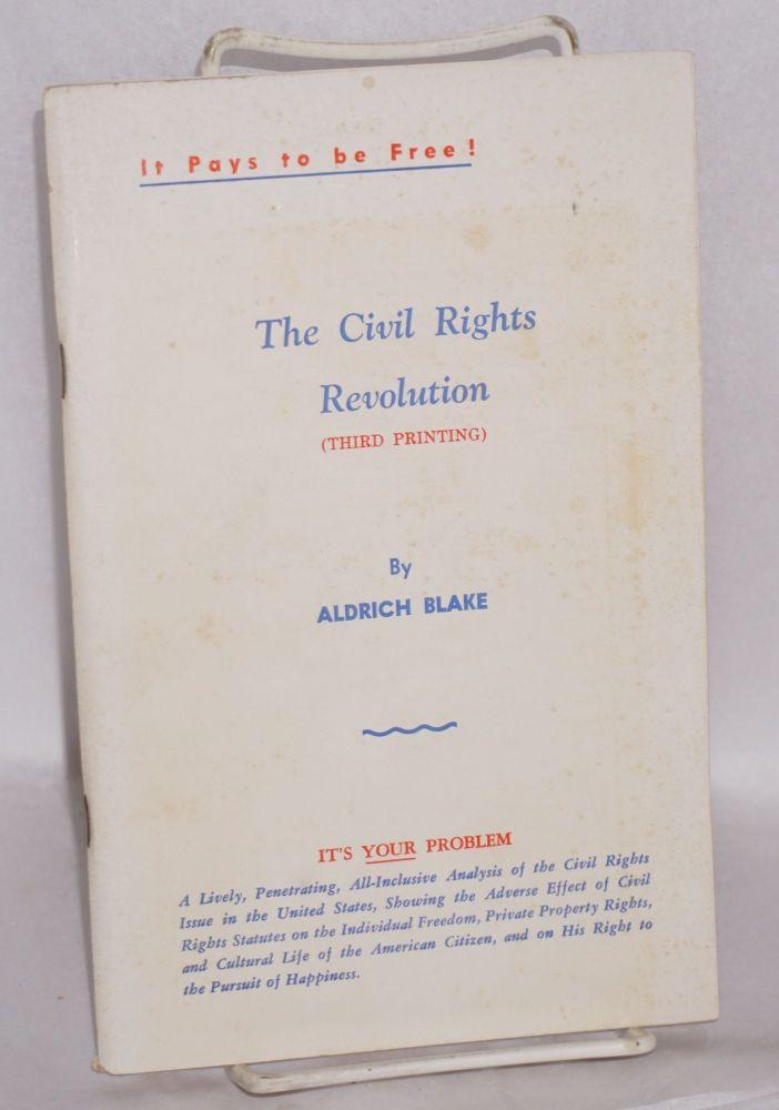 The civil rights revolution. Aldrich Blake
