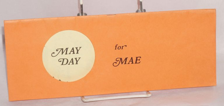 May Day for Mae: programme of entertainment presented by Ye Olde Spice Court. Chuck Zinn, Empress VII Jonni.