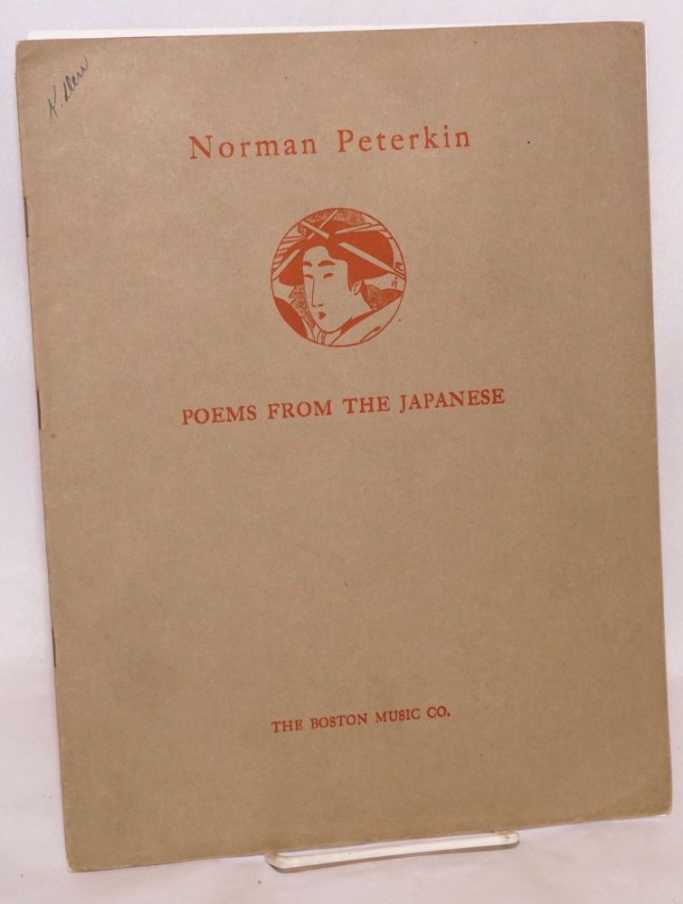 Five poems from the Japanese: set for voice and piano. Norman Peterkin.