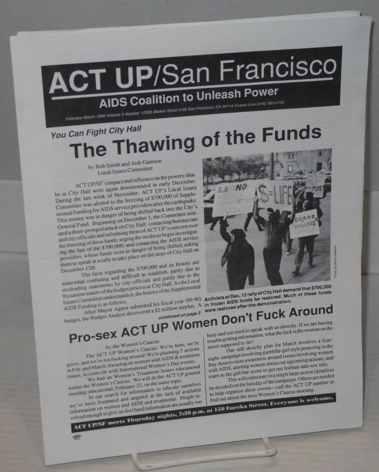 ACT UP / San Francisco vol. 2, #1, February-March 1990
