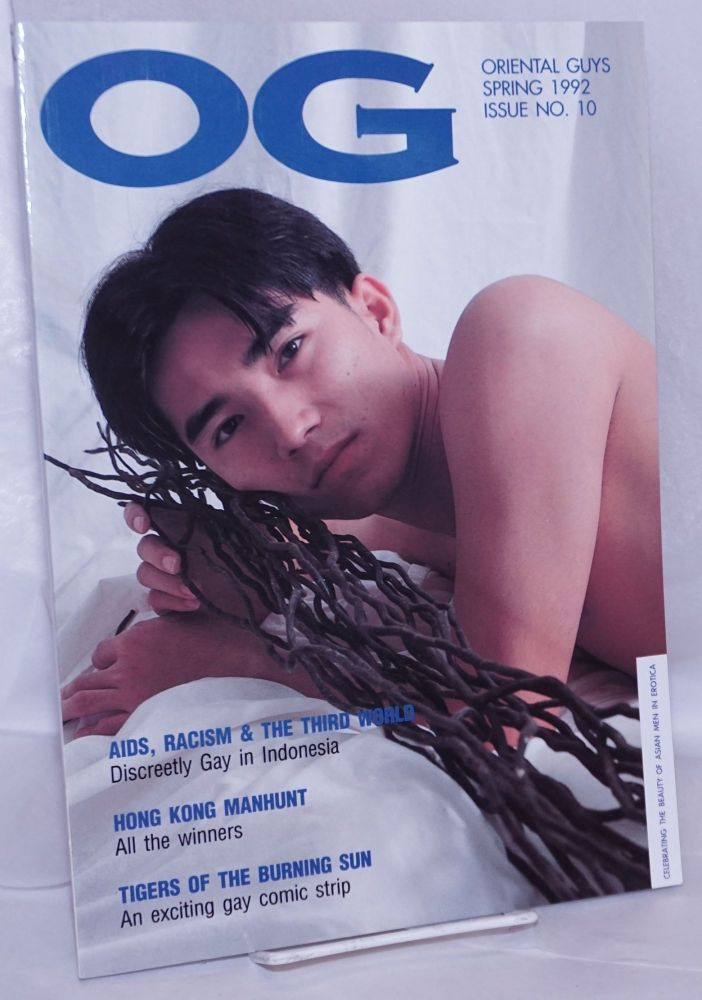 OG: Oriental guys; issue 10, Spring 1992. Ian Withers, , Ma-Ten, Victor Davis, Nong Sorachak.
