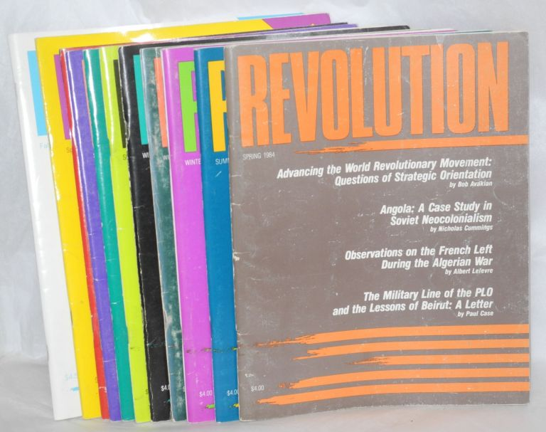 Revolution. [thirteen issues of the journal]. USA Revolutionary Communist Party.