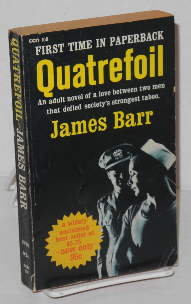 Quatrefoil: with a special introduction by the author. James Barr, James Barr Fugaté.