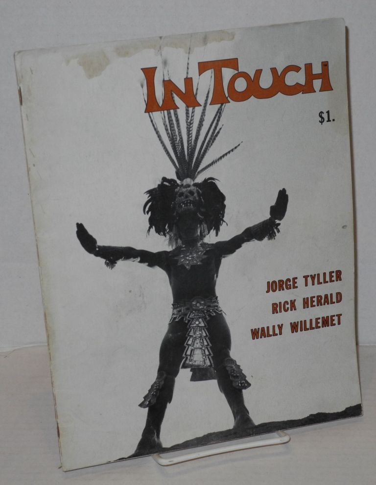 In touch; celebrating gay awareness, vol. 1, number 5, February 1974. William Sheffler, , Jim Kepner, David Minton, Hugh Roberts.