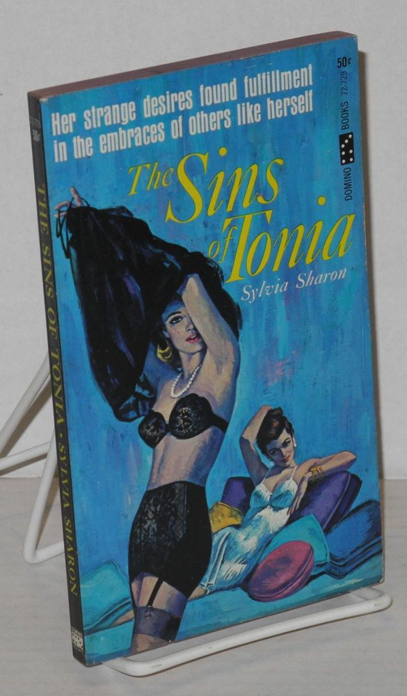 The sins of Tonia. Sylvia Sharon, pseudonym, Paul Little.
