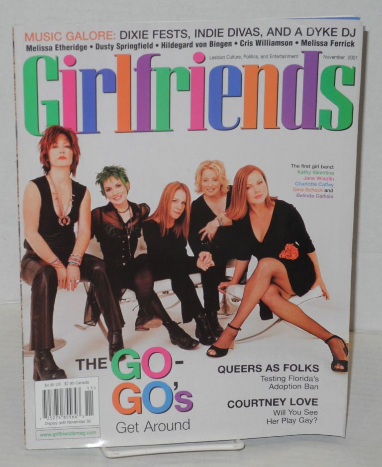 Girlfriends: lesbian culture, politics & entertainment; vol. 8 issue 5, November 2001