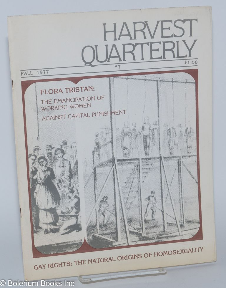 Harvest quarterly. Number 7 (Fall 1977)