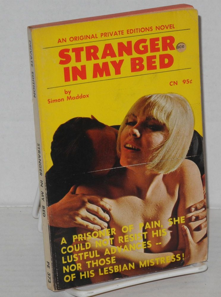 Stranger in my bed. Simon Maddox.