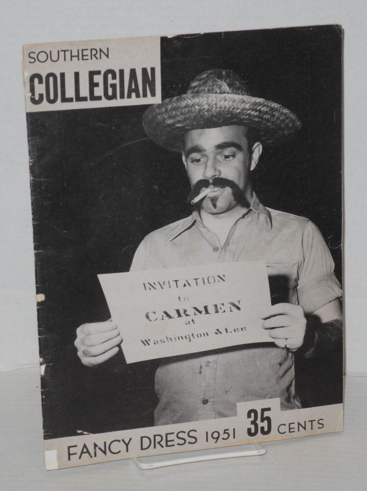 The Southern Collegian: vol. lxxv no. 2, February 1951: Fancy Dress. David Ryer.