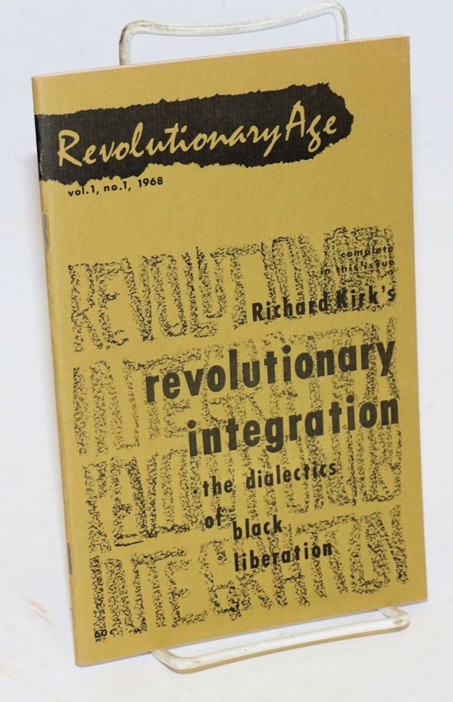 Revolutionary Age, vol. 1, no. 1, 1968. Freedom Socialist Party.