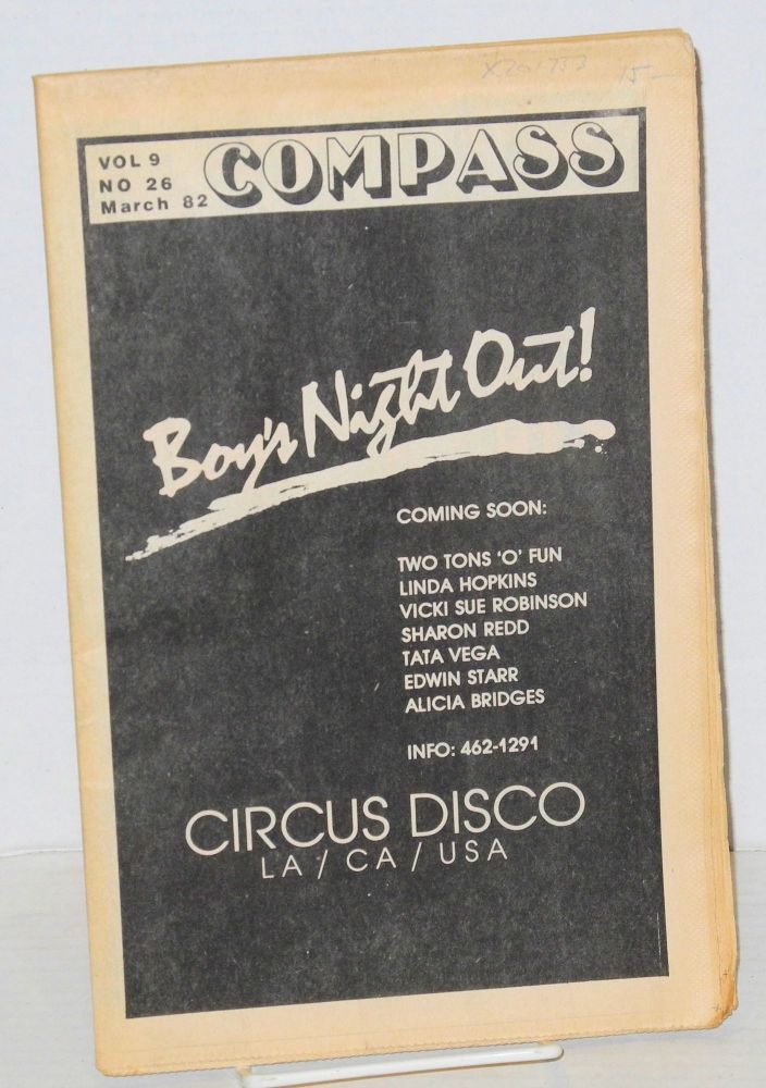 Compass: vol. 9, number 26, March 1982