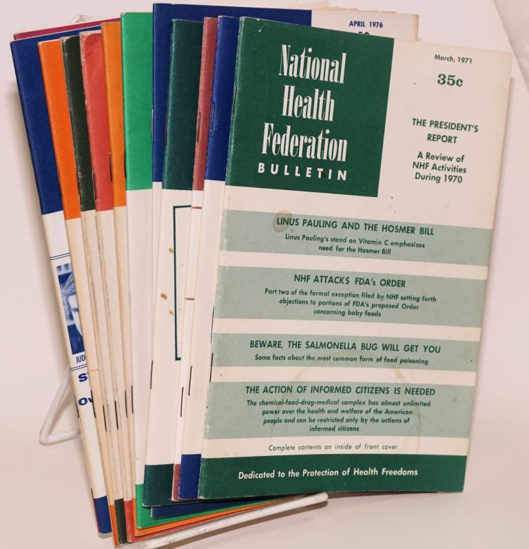 National Health Federation Bulletin [13 issues]