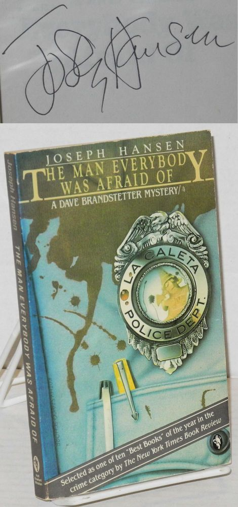 The man everybody was afraid of; a Dave Brandstetter mystery/4. Joseph Hansen.