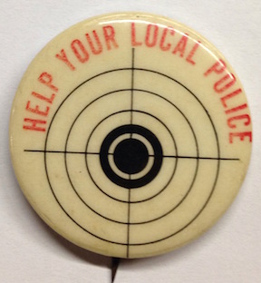 Help your local police [pinback button]
