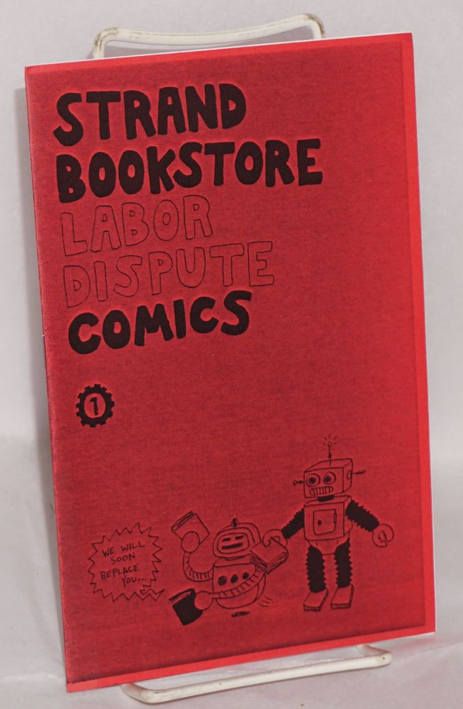 Strand Bookstore labor dispute comics 1. Greg Farrell.