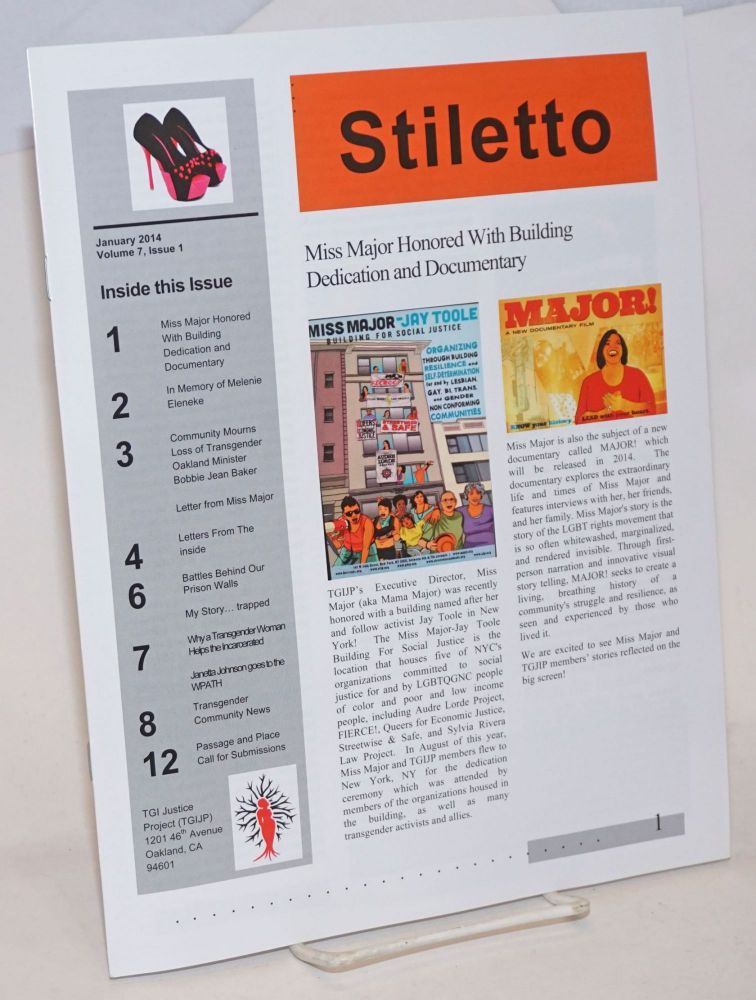 Stiletto: vol. 7, #1, January 2014