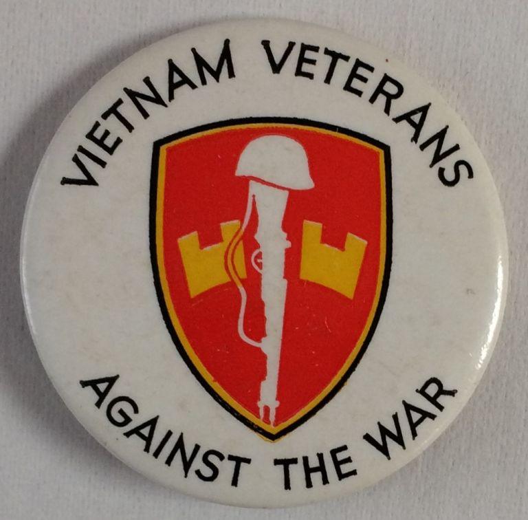 Vietnam Veterans Against the War [pinback button]