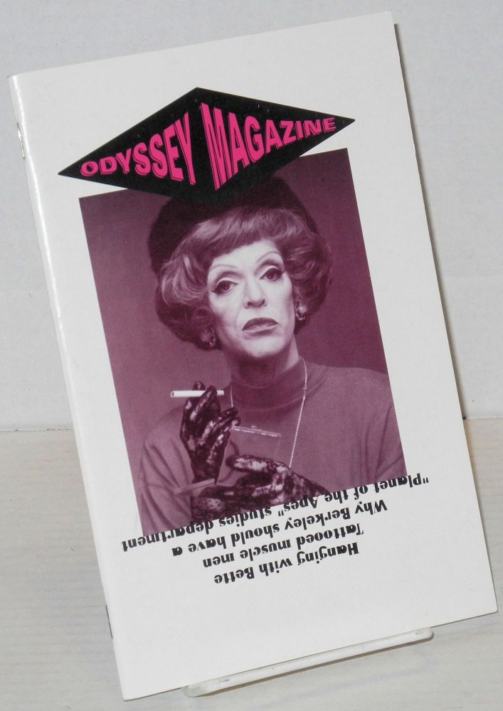 Odyssey magazine: vol. two, #4, March 26 - April 8, 1993. Guillaume D'Idaho.