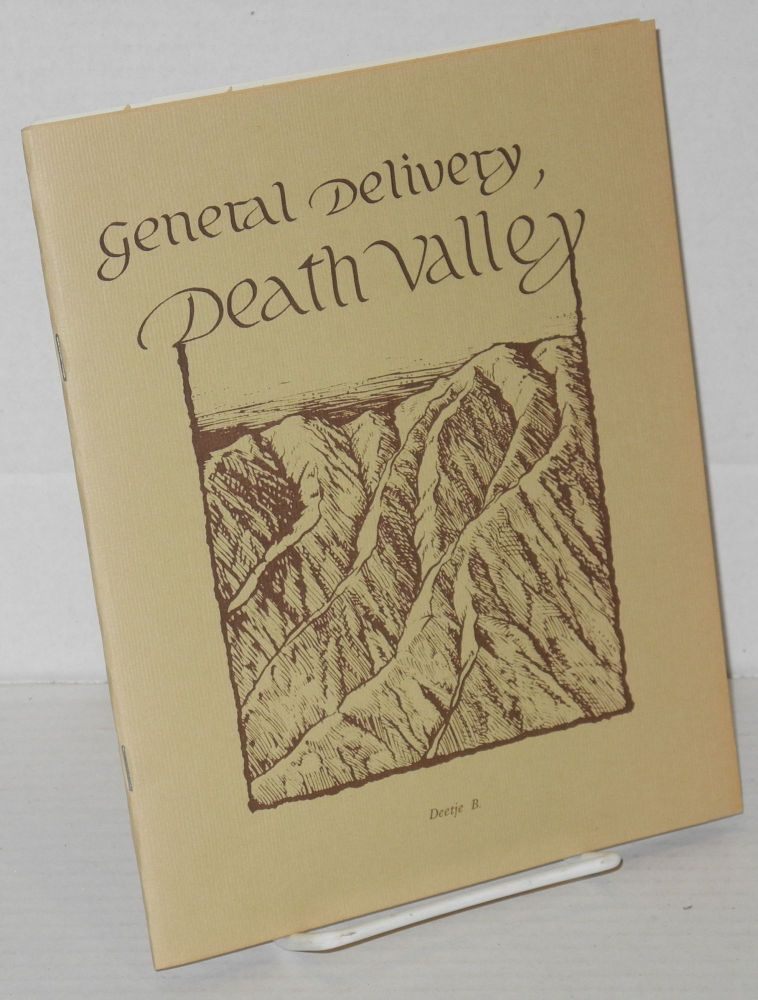 General delivery, Death Valley drawing by David Moore. Deetje B.