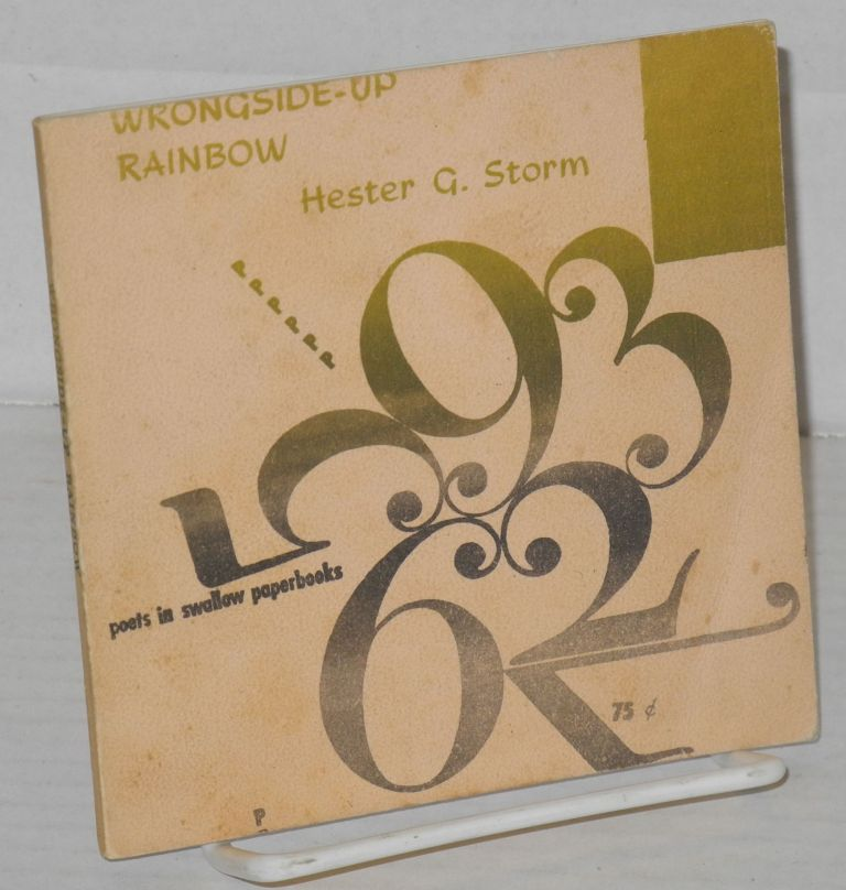 Wrongside-up rainbow. Hester G. Storm.