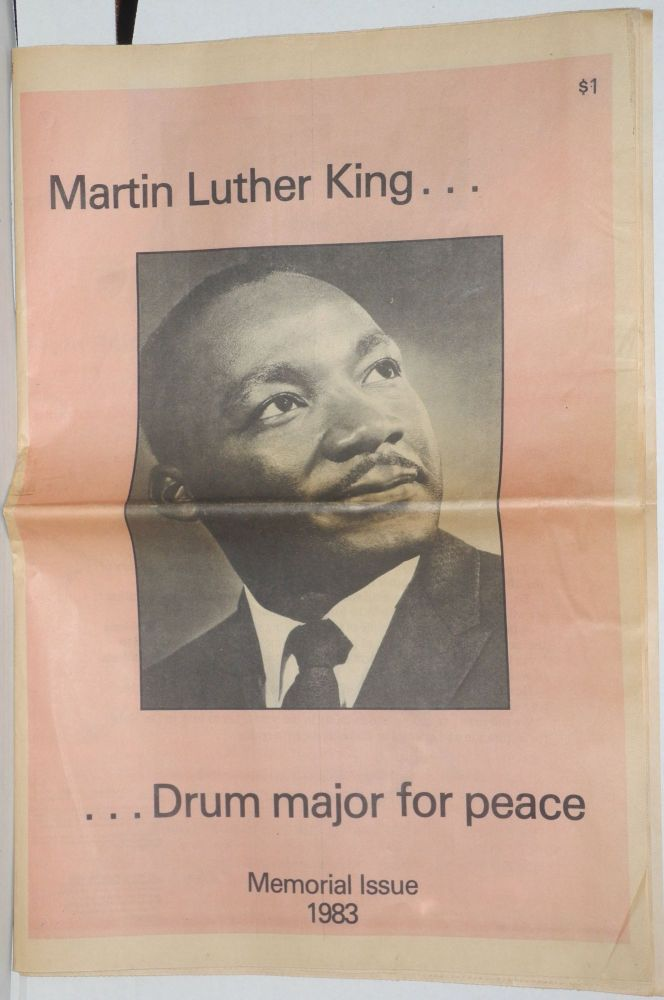 Portland Observer second annual documentary issue of the life of Dr. Martin Luther King