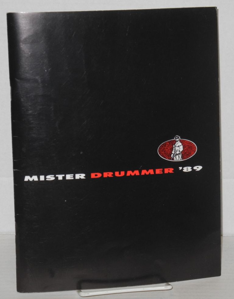 Mr. Drummer finals 1989