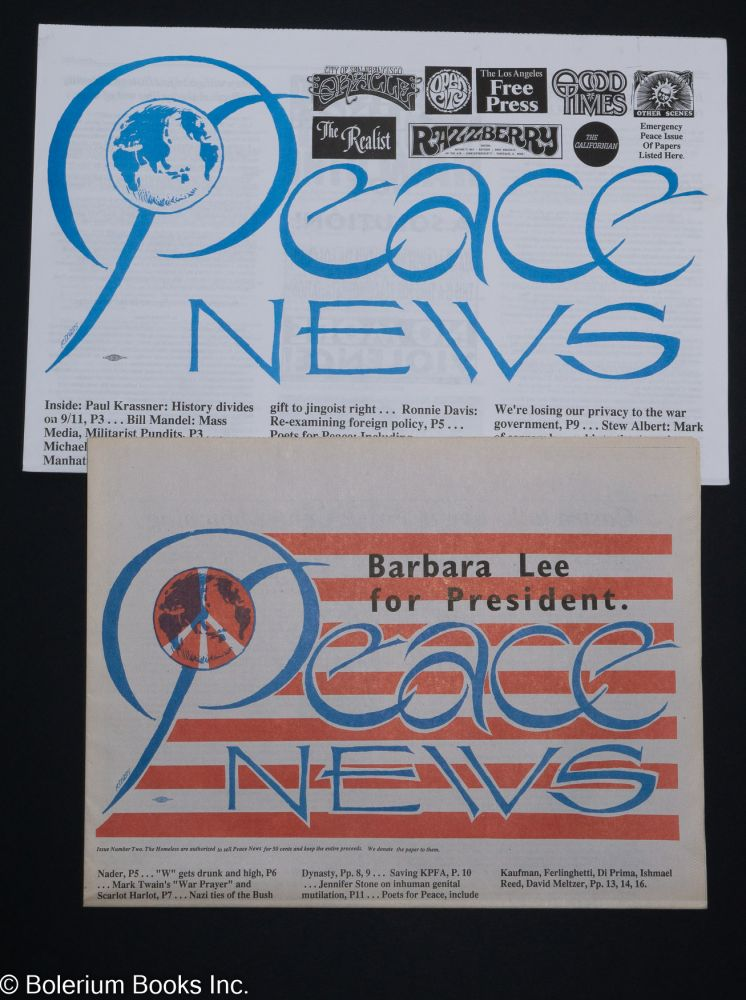 Peace News [Numbers 1 and 2]