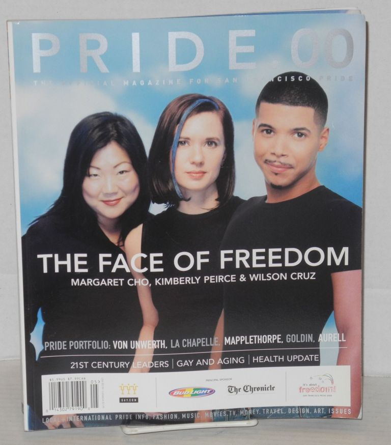 Pride .00: the official magazine for San Francisco Pride [Margaret Cho, Kimberly Peirce, Wilson Cruz cover]