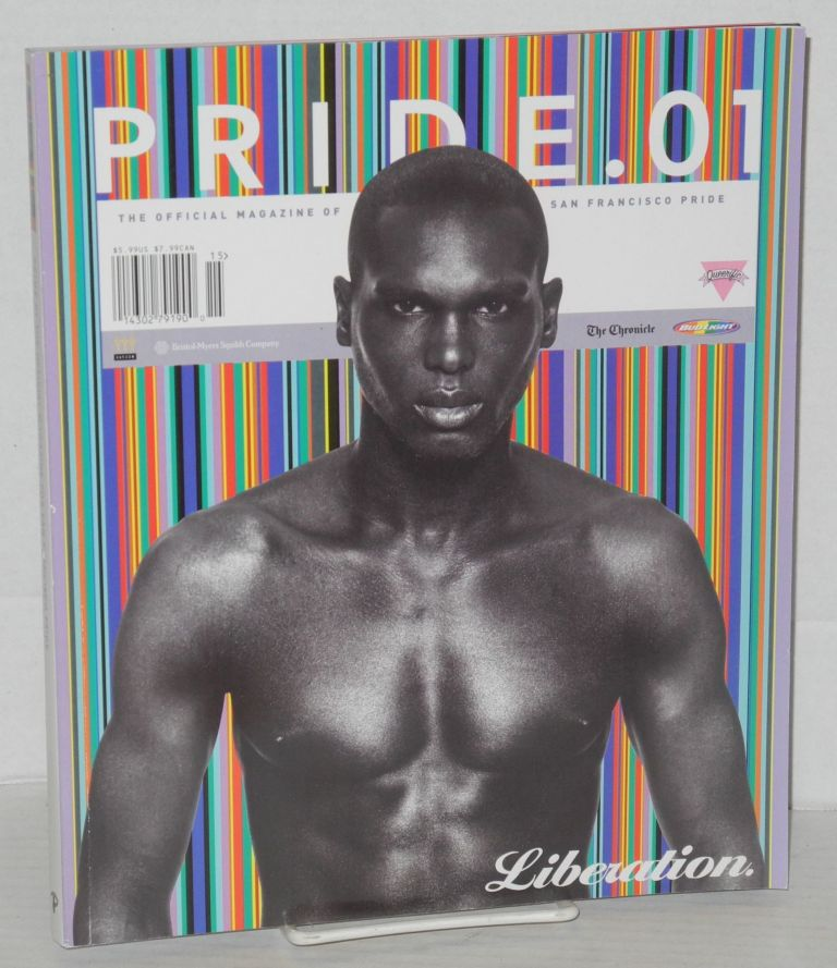 Pride .01: the official magazine for San Francisco Pride [Queer, of Color cover]