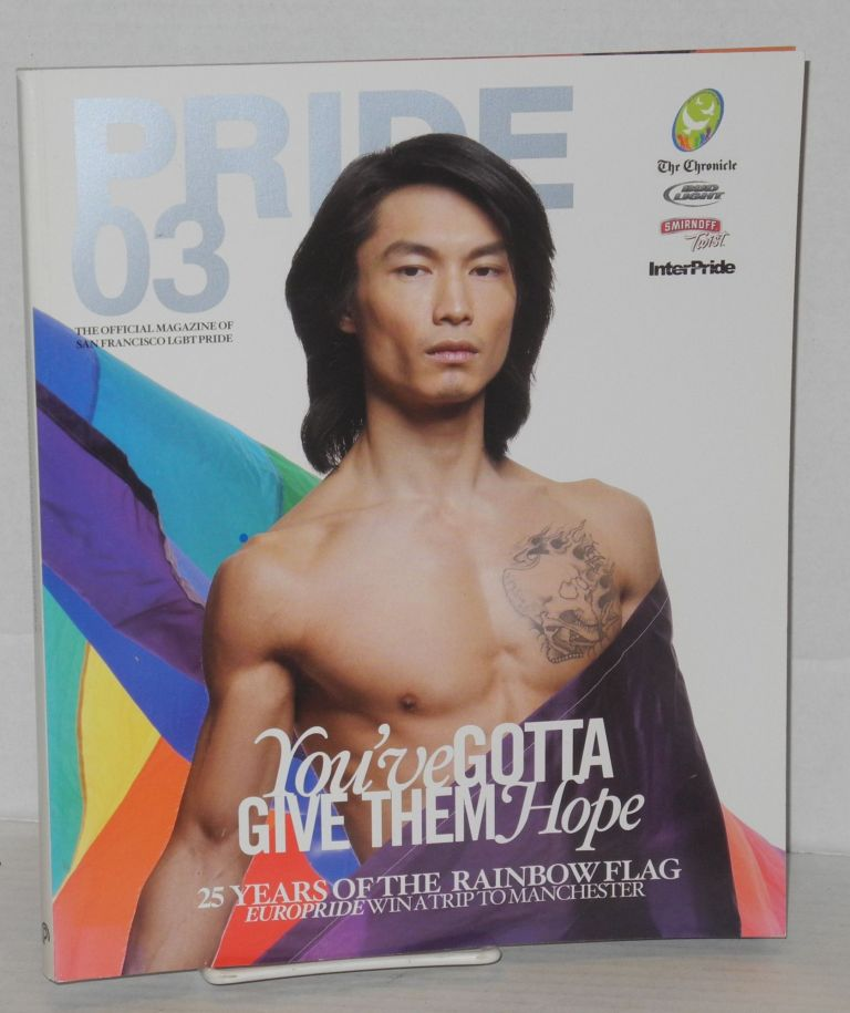 Pride .03: the official magazine for San Francisco LGBT Pride